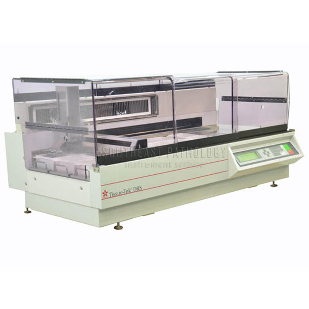 Refurbished and Used Sakura DRS 601 H&E Stainers for sale